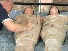 2 boys tied and teased