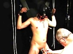 Paki slave is abused and fucked by old dom daddy - part 1