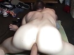 Sweet ass stretched out and gaped for tight ass boy