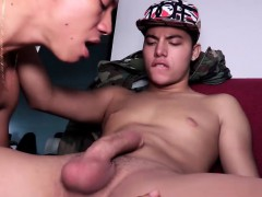 Young Latinos Jenaro and Quique Bareback