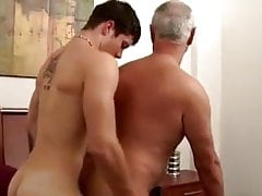 18 Year Old Boy and Daddy Hot Bareback
