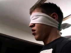 White gay sex slave twink Blindfolded-Made To Piss & Fuck!
